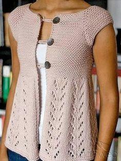 Bayan Örgü Yelek Modelleri 2013