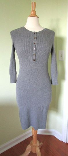 Victoria's Secret Gray Pink Kiss of Cashmere Pleated Sweater Dress ...