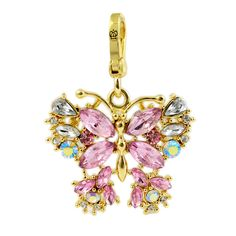 5621a3a361b Juicy Couture Jeweled Butterfly Charm Butterfly Fashion