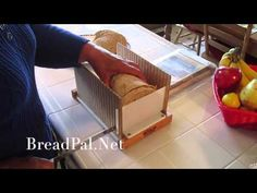 How to Slice Bread With The Bread Pal Bread Slicing Guide - YouTube