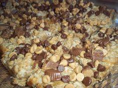 The Daily Smash: Peanut Butter Oatmeal Dream Bars