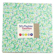 """30's Playtime Favorites Layer Cake, 42 - 10"""" Fabric Squares By Chloe's Closet for Moda MODA http://www.amazon.com/dp/B00NG0C7DO/ref=cm_sw_r_pi_dp_jxyTvb1CMX8W3"""