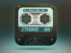 Dribbble - Casette Tape by Burc Pulathaneli