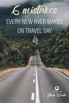 Are you a new full time RV family? This lifestyle can be hard, but it's so rewarding! This list of the most common mistakers new RVers make on travel day isn't to scare you, but to inform you on specific precautions to take as you begin your travels! Rv Travel, Travel Tips, Travel Guides, Travel Trailers, Summer Travel, Travel Packing, Travel Advice, Outdoor Travel, Adventure Travel