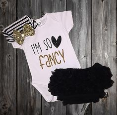 Baby Girl Outfit, Baby Girl Clothes, Baby Shower Gifts, Baby Clothes, New Baby Gift, New Baby, Baby Shower Gift by MadKaySonCreations on Etsy https://www.etsy.com/listing/257819482/baby-girl-outfit-baby-girl-clothes-baby