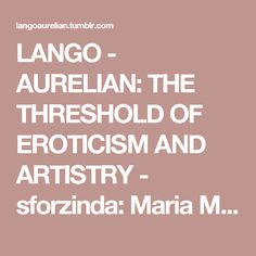 LANGO - AURELIAN: THE THRESHOLD OF EROTICISM AND ARTISTRY - sforzinda: Maria Magdalena of Austria (detail),...