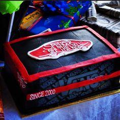 Vans cake! Birthday cake!