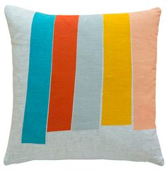 ORANGE BIG TOP LINEN CUSHION COVER – Castle and Things