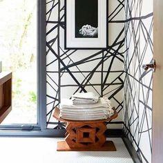 "Iconohomes on Instagram: ""Japanese Style ! . . . .  #homedecor #design #crazyfordesign #iconohome #icono #interior #loveinterior #interiores #living #japan #bath…"" Japanese Style, Shelves, Bath, Wallpaper, Interior, Table, Furniture, Instagram, Design"
