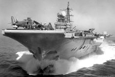 HMS Hermes R 12 Centaur class aircraft carrier Royal Navy Royal Navy Aircraft Carriers, Navy Carriers, Uss Enterprise, Indian Navy Ships, Zeppelin, British Aircraft Carrier, Uss Intrepid, Hms Ark Royal, Naval History