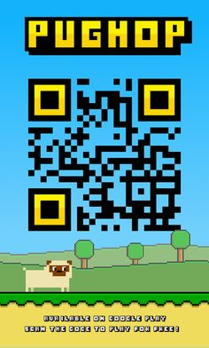 Pughop QR code for Android!