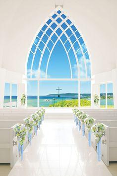 アクアルーチェ・チャペル | 国内挙式 | リゾートウェディング「リゾ婚」なら【ワタベウェディング】
