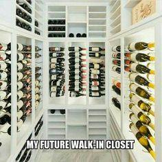 Wine Meme, Wine Funnies, Different Types Of Wine, Just Wine, Wine Wednesday, Wine Quotes, Walk In Closet, Wine Making, Wine Cellar