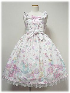 Angelic Pretty / Jumper Skirt / Toy Parade JSK ♥ sweet lolita fashion ♥