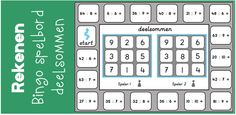 Klik hier om het spelbord te downloaden! Gerelateerde berichten: Bingo spelbord deelsommen (tafels 1 t/m 5) Gerelateerd