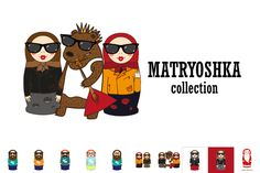 Check out Matryoshka collection by whynot on Creative Market