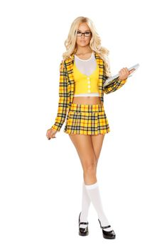 School Girl Without A Clue Costume, Sexy Cher Costume Clue Costume, Costume Sexy, Halloween Costumes For Girls, Halloween Party, Girl Halloween, Halloween Festival, Costume Ideas, 90s Costume, Pirate Costumes