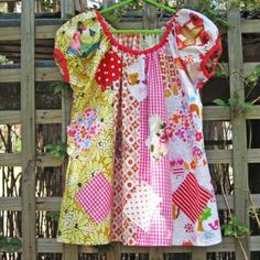 Sweet Pea Girl's Dress Pattern by Felicity Sewing Patterns. | Felicity Sewing Patterns