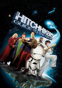 The Hitchhiker's Guide to the Galaxy (2005) After learning his house is about to be leveled to make way for a bypass and that Earth is about to be destroyed to clear the way for an interstellar thruway, jinxed Arthur Dent survives by hitching a ride on a passing spacecraft.