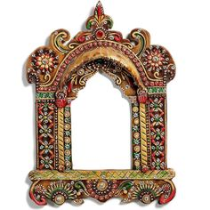 Buy handmade #wooden hanging #jharokha with #craftshopsindia