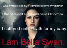 Bella has done a lot of brave things despite what people say about her. She is stronger than she gets credit for.