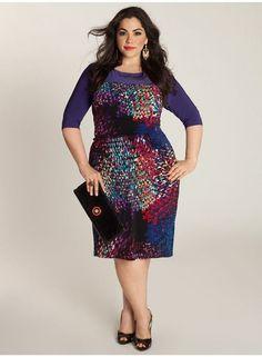 full figure fashions | Full figure womens black dresses in Women\'s ...