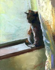 The Creative Cat - Daily Sketch: Spring Morning