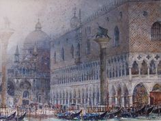 "Geoffrey Wynne - ""San Marcos, Venecia - St Mark's, Venice"""