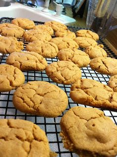 You've Got Muffin to Lose: Healthy Peanut Butter Cookies