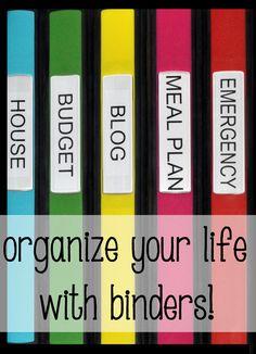 Getting Organized: Budget Binder! | Stacy's SavingsStacy's Savings