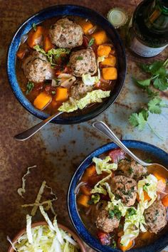 Mexican Meatball Soup With Butternut Squash | 18 Easy Whole30 Dinners That Are Actually Delicious