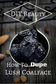 DIY Beauty: How To Dupe Lush Coalface + Holiday Gift Idea