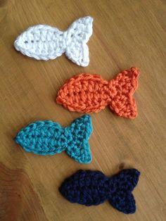 Fantail fish appliqués.