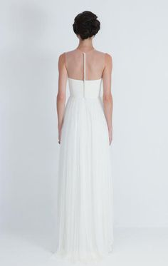 Vintage Wedding Dresses Illusion Necklines