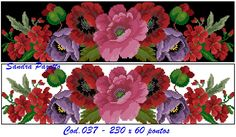 BT Cross Stitch Rose, Cross Stitch Flowers, Cross Stitch Embroidery, Cross Stitch Designs, Cross Stitch Patterns, Black And White Flower Tattoo, Beaded Flowers, Needlepoint, Needlework