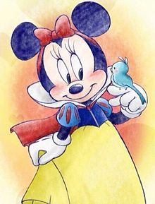 ideas for disney art mickey snow white Walt Disney, Deco Disney, Cute Disney, Disney Magic, Disney Mickey, Disney Fanatic, Disney Addict, Disney Artwork, Disney Drawings