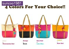 Fashion Cute Women Girl Candy Color Leisure Handbag Purse Shoulder Tote Bag C47 #unbrand #HandBag