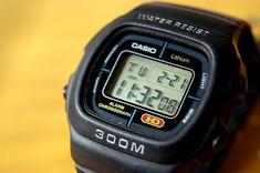 Casio G Shock Watches, Retro Watches, Vintage Watches, Watches For Men, Casio Vintage Watch, Casio Watch, Casio Digital, Digital Watch, Nerd Chic