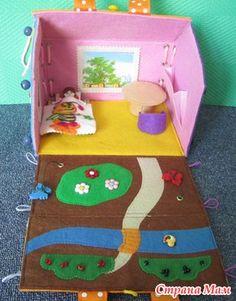 Como las ideas - casas. - Boobooka - juguetes educativos para niños y no sólo - País mamá