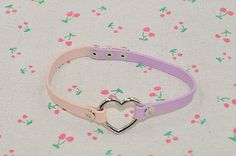 Hey, I found this really awesome Etsy listing at https://www.etsy.com/listing/200426497/love-heart-pu-leather-pink-and-purple