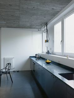 <p>Located in the center of Berlin, the home of 032c Magazine editor Joerg Koch is a brutalist church that has been renovated. The new minimalistic design approach remaining true to Germanys brutalist