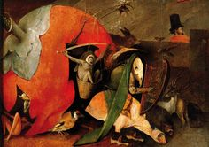 The Temptation of ST. Anthony - detail Hieronymous Bosch
