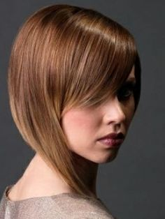 Groovy Tapered Bob Hair Styles | Makeup Tips and Fashion
