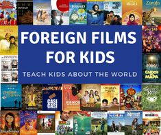 Finding age-appropriate, high-quality foreign films, especially to watch with younger children, can be a big challenge. Here are over 25 of the best movies for kids from around the world! Best Kid Movies, Good Movies, Disney Movies, Foreign Movies, French Movies, World Geography, Indie Movies, France, Learn French