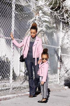 Mom and mini same fashion style