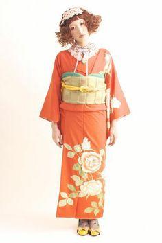 光宗 薫 さま お着物撮影。の画像   ダリヘアデザイン 高島の靭公園から徒然と