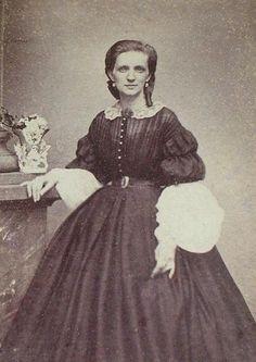 1860s dresses 1860 s cdvs acw cdv s