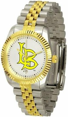 Long Beach State 49ers NCAA Mens Steel Executive Watch SunTime. $133.95. Save 21%!