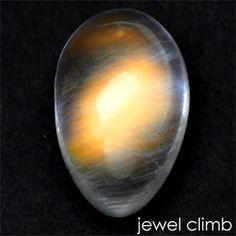 レインボームーンストーン(マルチオレンジ)(moon stone)0.87CT