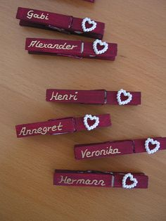 Namensanstecker by Loana, via Flickr
